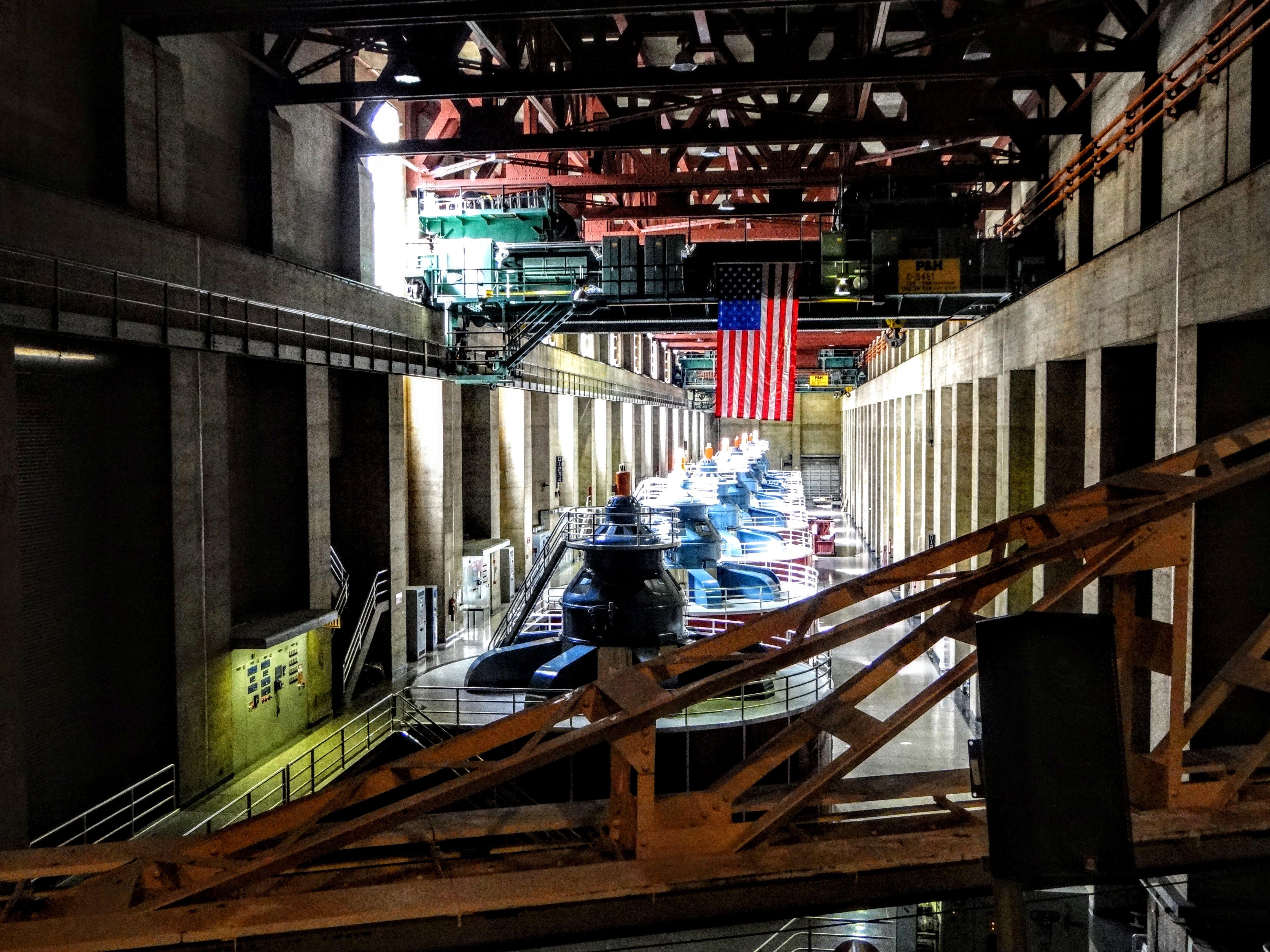 Hoover Dam Flag